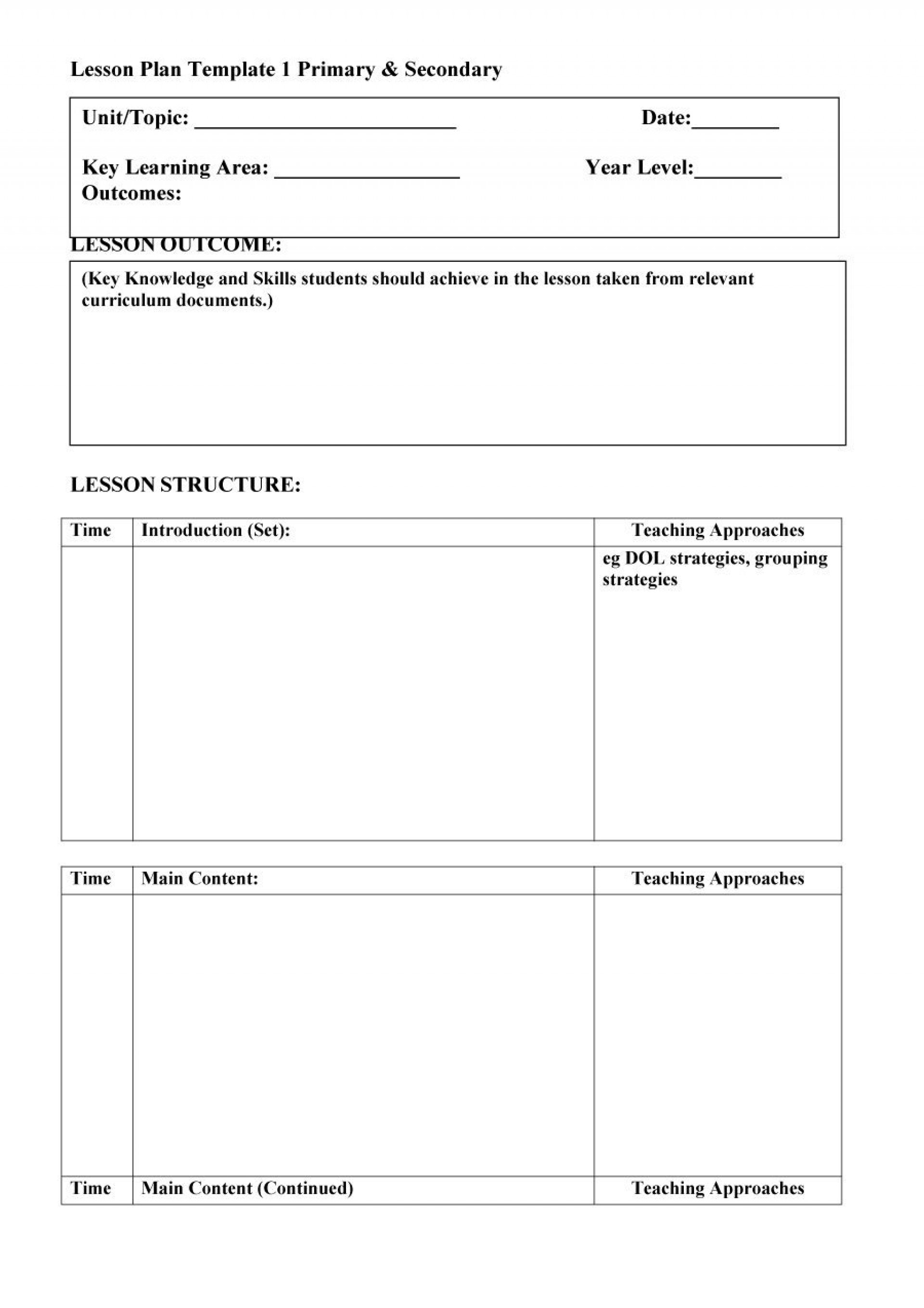 007 Preschool Lesson Plan Template Fascinating Ideas Doc Printable regarding Lesson Plan Template Printable Monthly