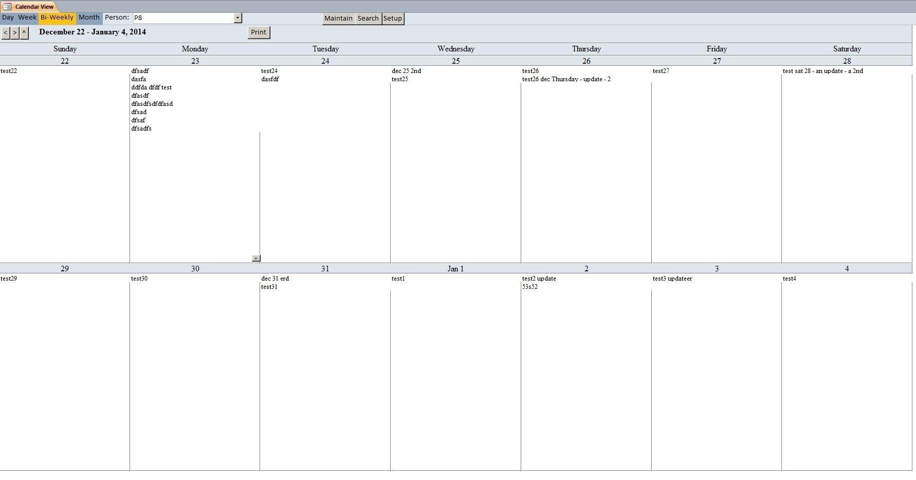 011 Two Week Printable Calendar Template Stupendous Ideas Print 2 inside Print A Two Week Calendar