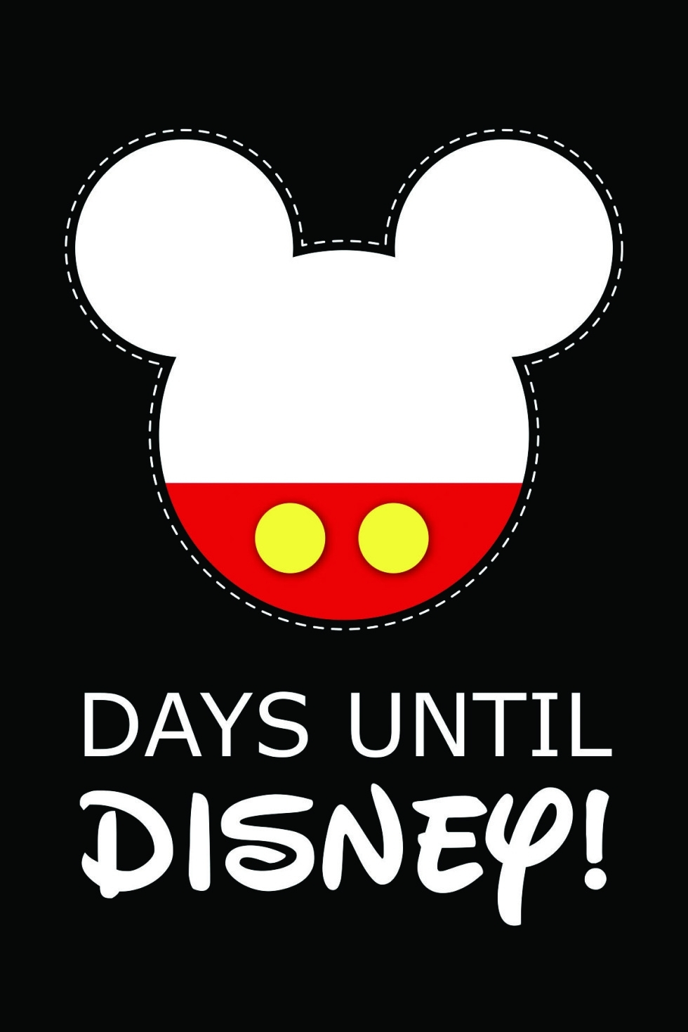 10 Fun Printable Disney Countdown Calendars | Kittybabylove regarding 99 Days To Disney Printable Calendar
