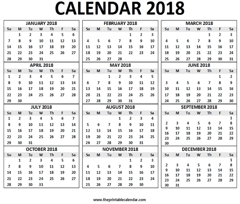 12 Months Calendar – Calendar Year Printable with 12 Month Calendar With Lines