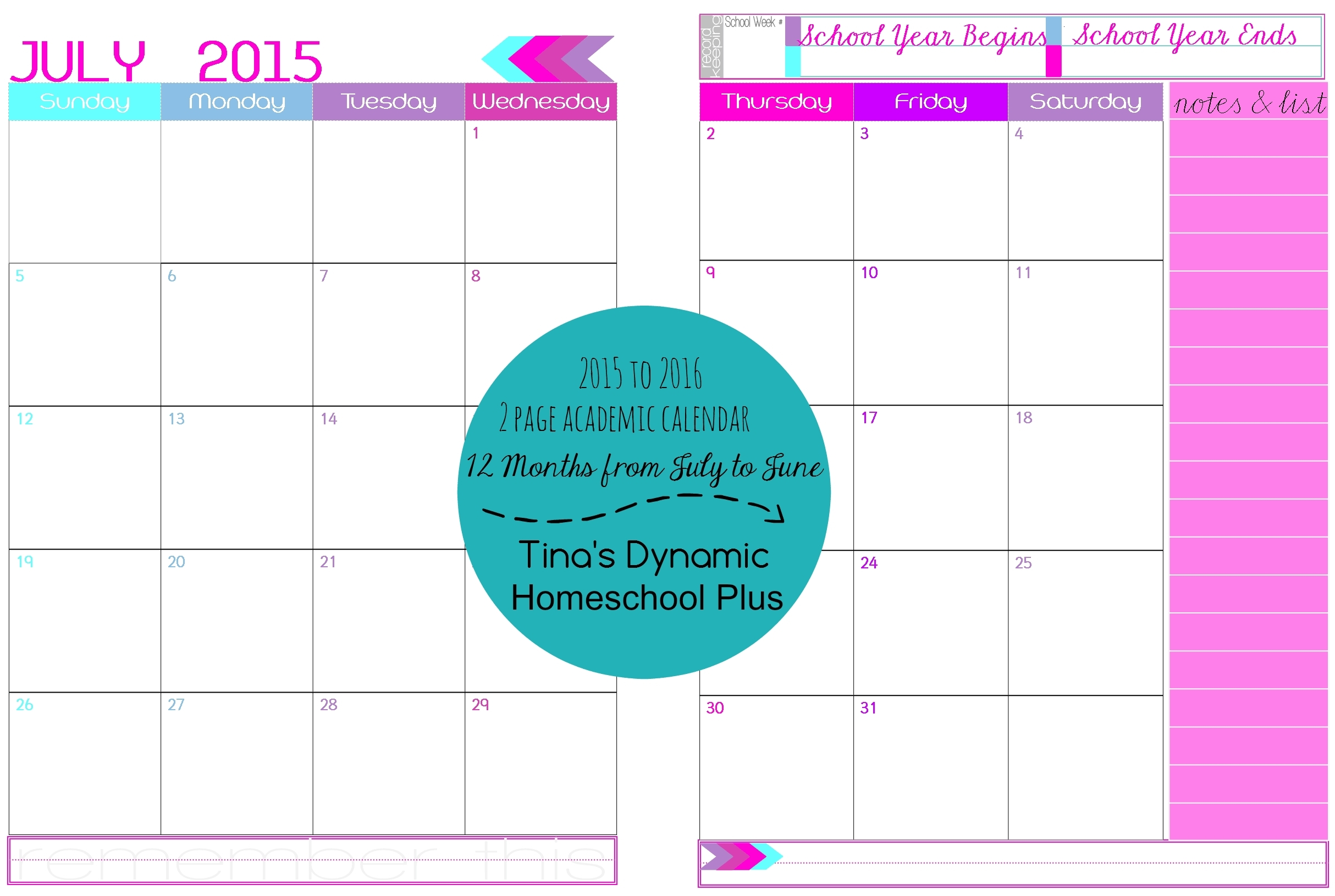 2 Page Calendar Template - Gese.ciceros.co intended for 2 Page Monthly Calendar Printable Free