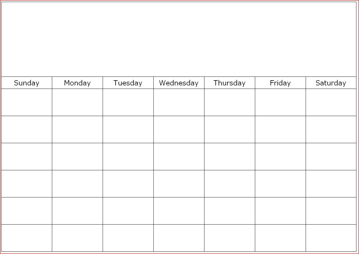 20 Printable 2019 Calendar Templates Basic Printable Calendar in Printable Full Size Blank Calendar