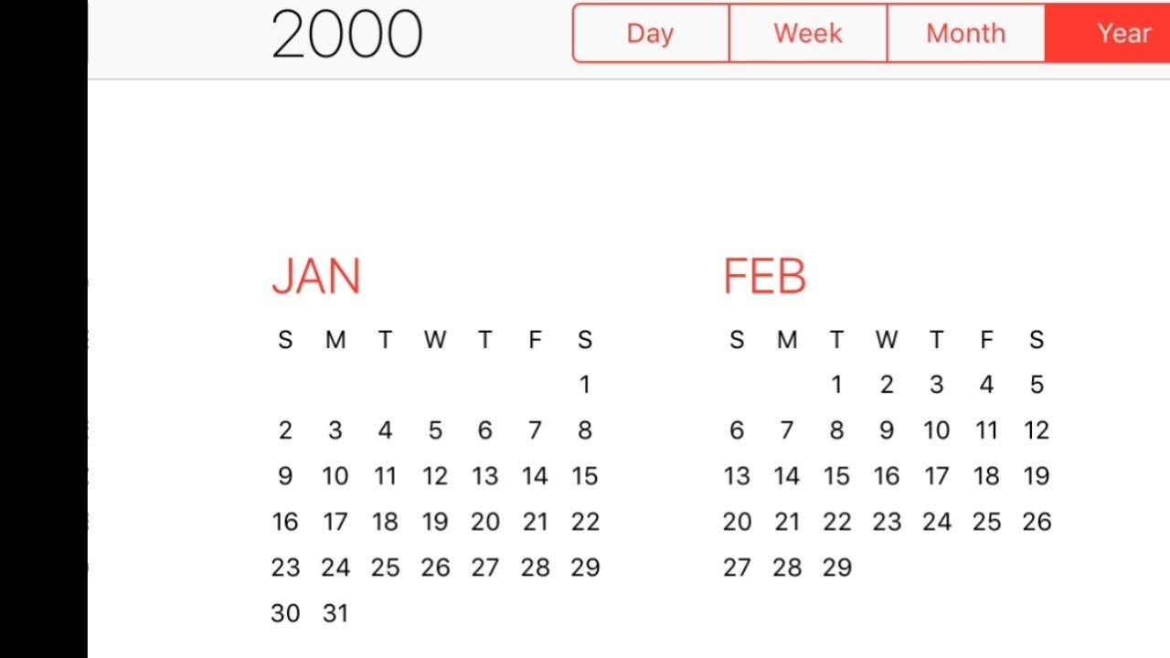 2000 Calendar - Youtube for 2000 October Malayala Manorama Calendar