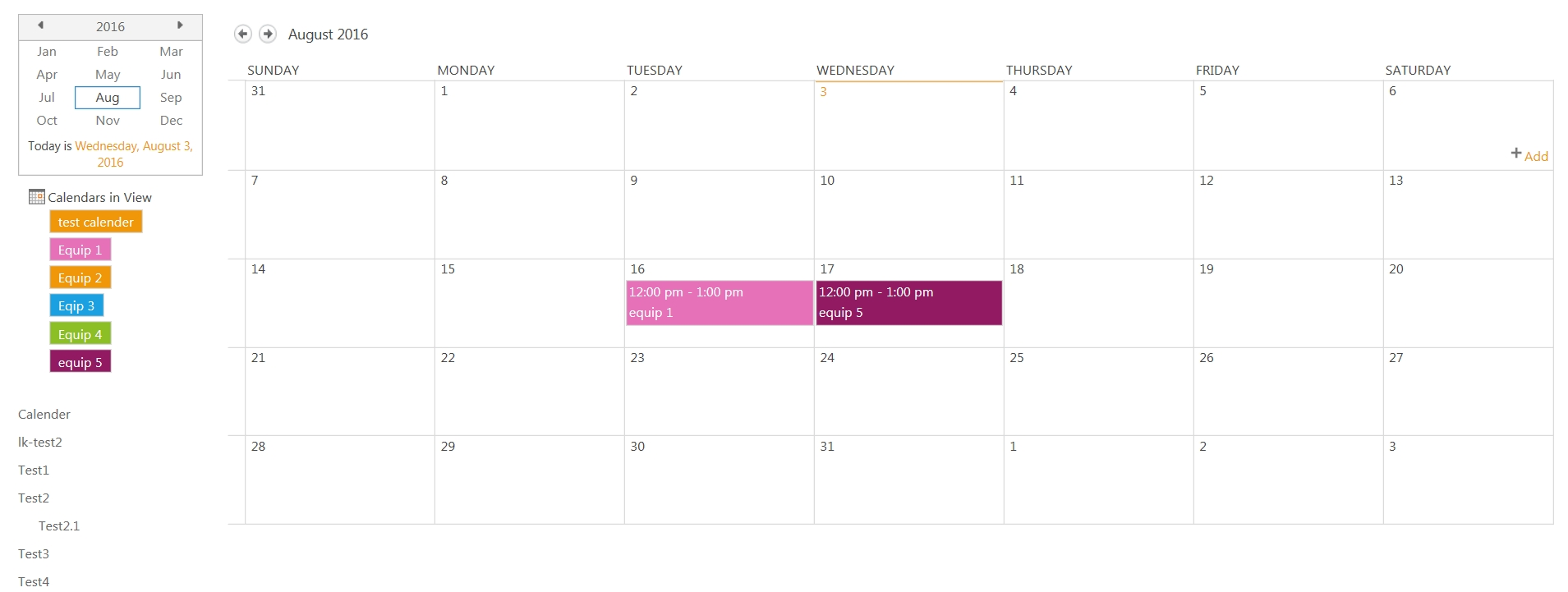 2013 - Calendar Color-Coding - Sharepoint Stack Exchange pertaining to Sharepoint 2013 Calendar Overlay Issues
