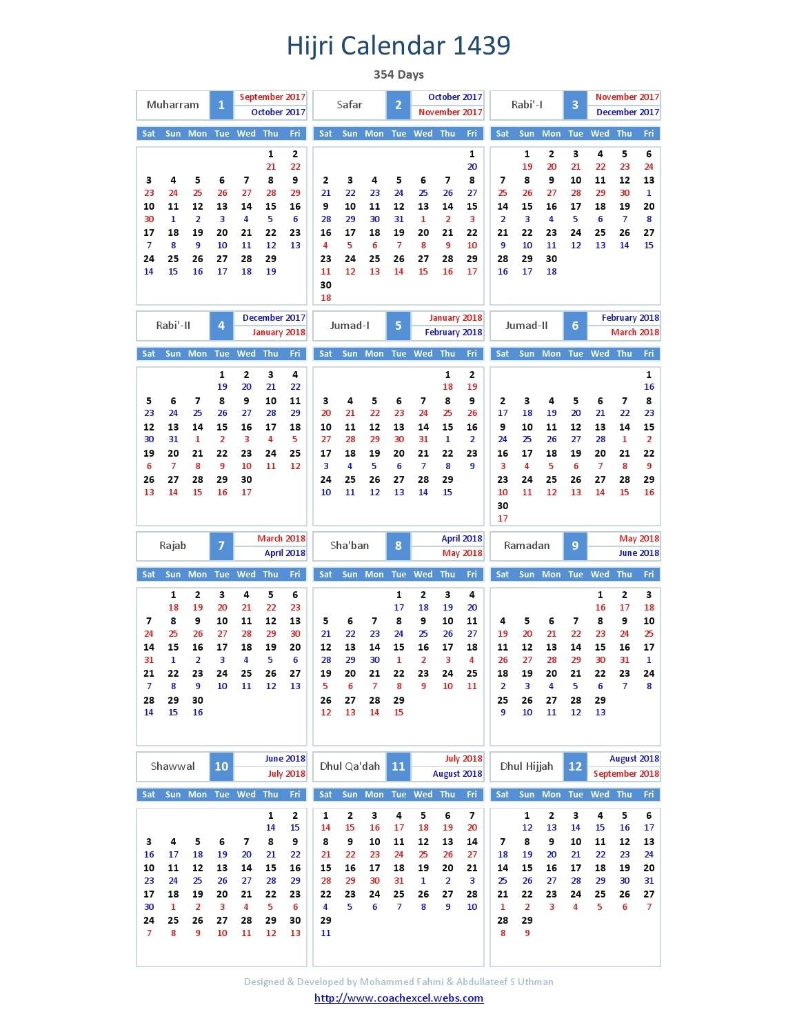 2016 Islamic Hijri Calendar Template Design Version 2. Hijri with regard to Hijri Calendar 1438 With Gregorian Calendar