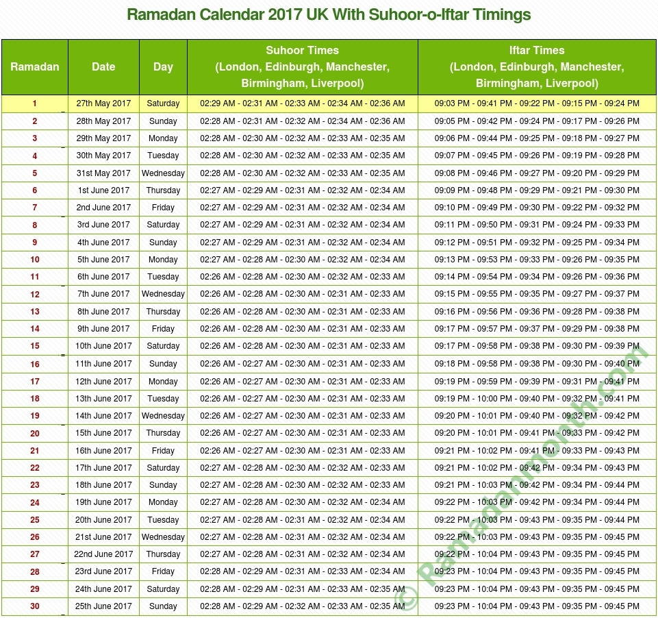 2018 Ramadan Calendar. Ramzan 2018 Timings Check Sehr And Iftar Time within Calendar Of Ramadan In Saudi Arabia