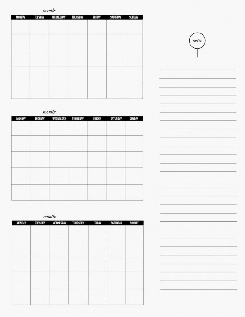 3 Month Calendar Template Word Blank Printable Compatible Depict with regard to Calender For Last 3 Months