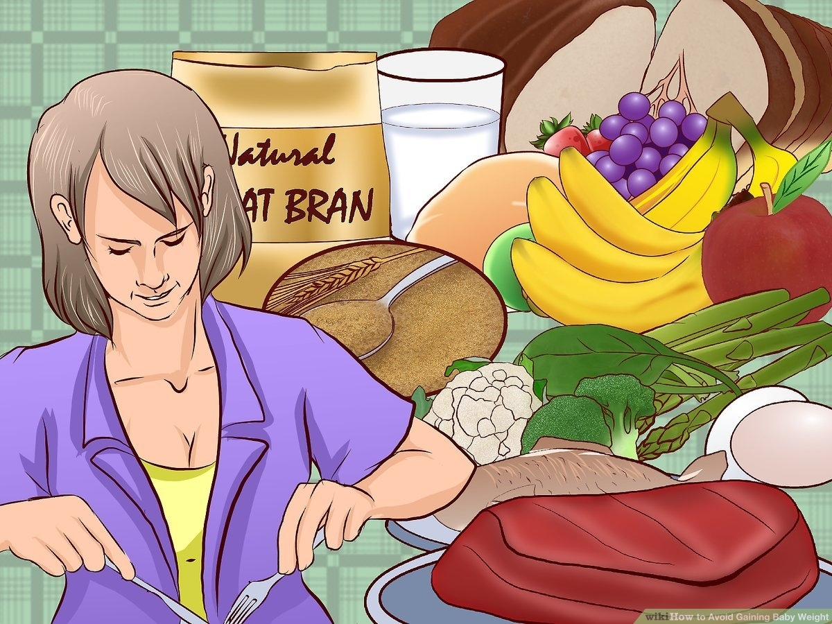 3 Ways To Avoid Gaining Baby Weight - Wikihow pertaining to How To Get Your Unborn Baby To Gain Weight