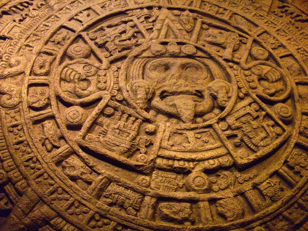 3759: Mayan Calendar - Aztec Stone Of The Sun | Assumed Maya… | Flickr within The End Of The Mayan Calendar