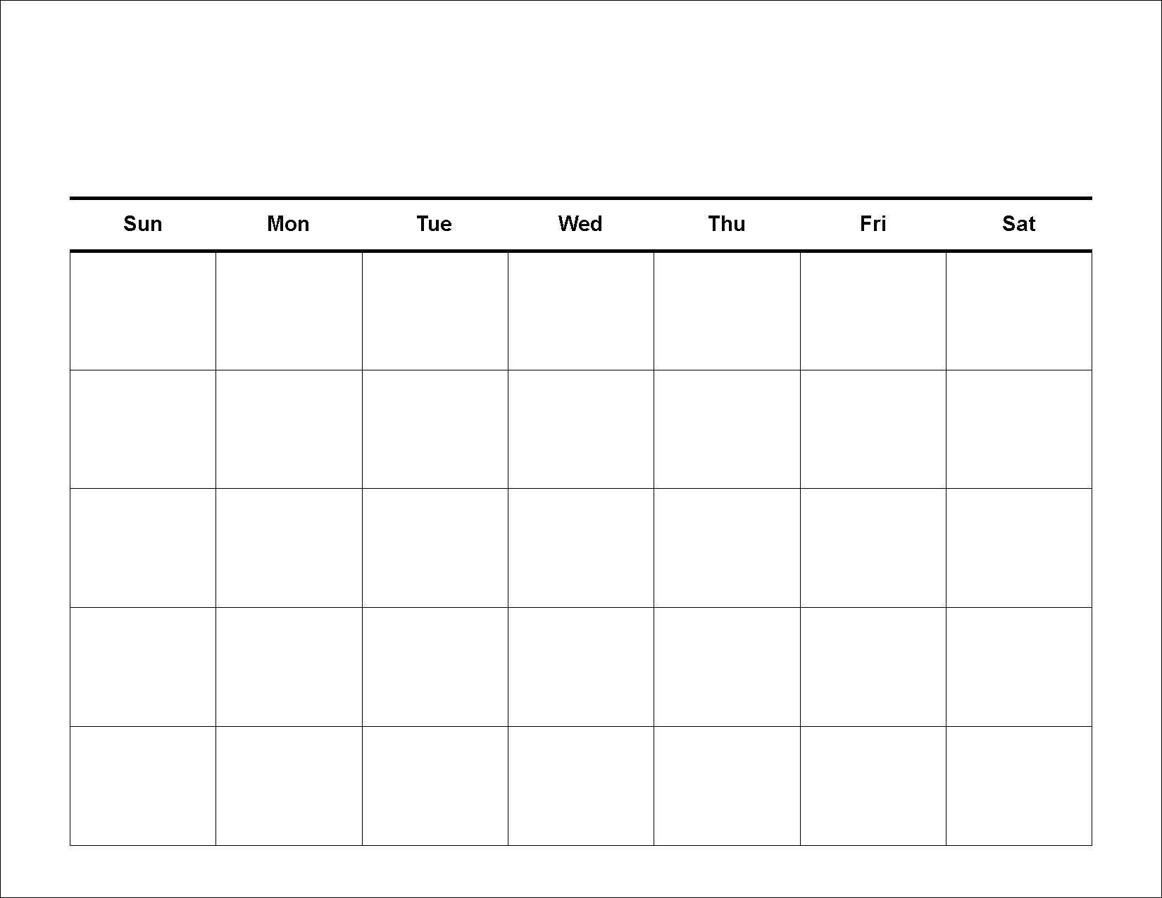 4 Weekly Calendar Printable Blank Calendar Template Photo Drumaw For for Blank 4 Week Calendar Printable