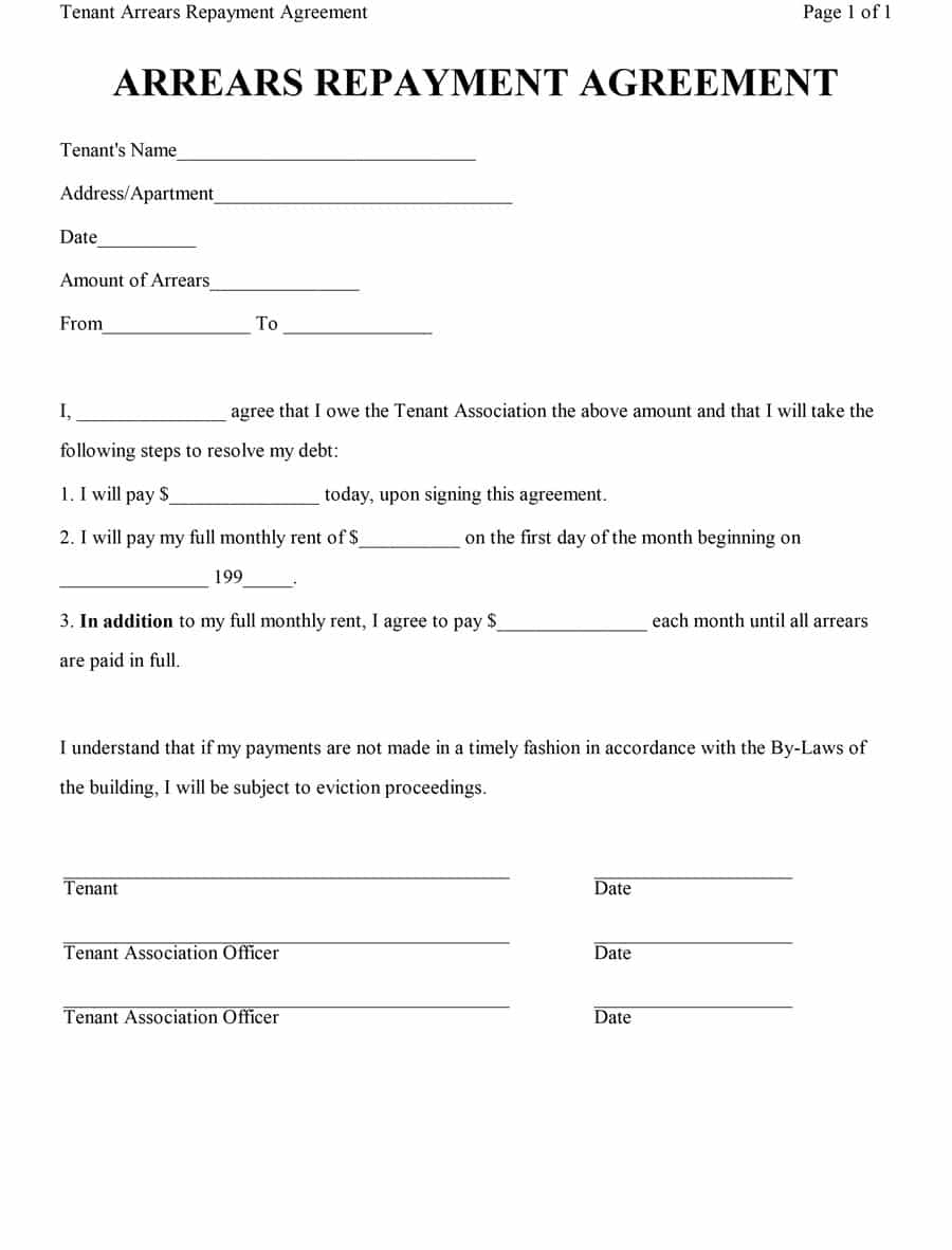 40+ Free Loan Agreement Templates [Word & Pdf] ᐅ Template Lab intended for Free Printable Blank Templates For Paid And Owed