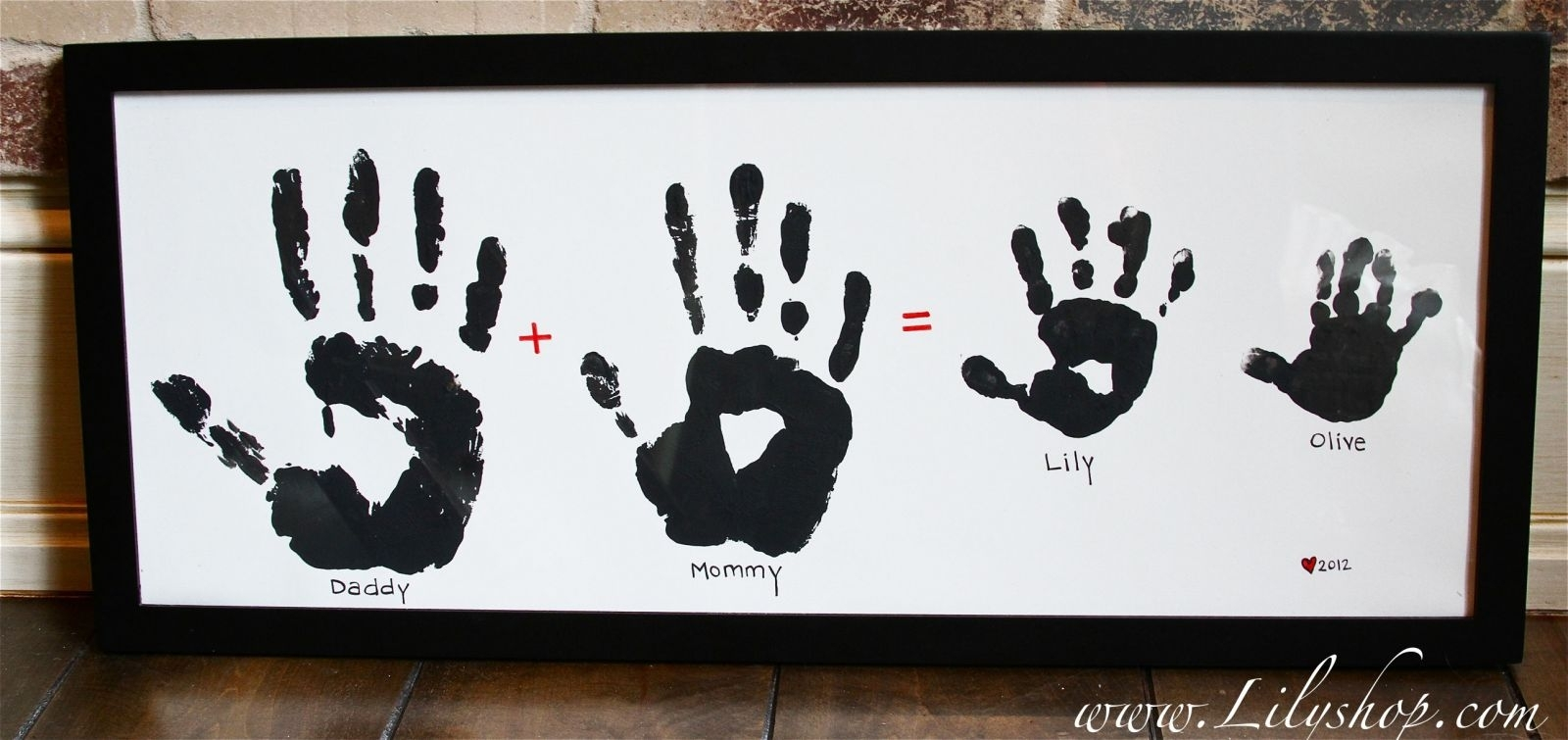 40 Fun And Creative Handprint Crafts in Handprint Footprint With Siblings Ideas