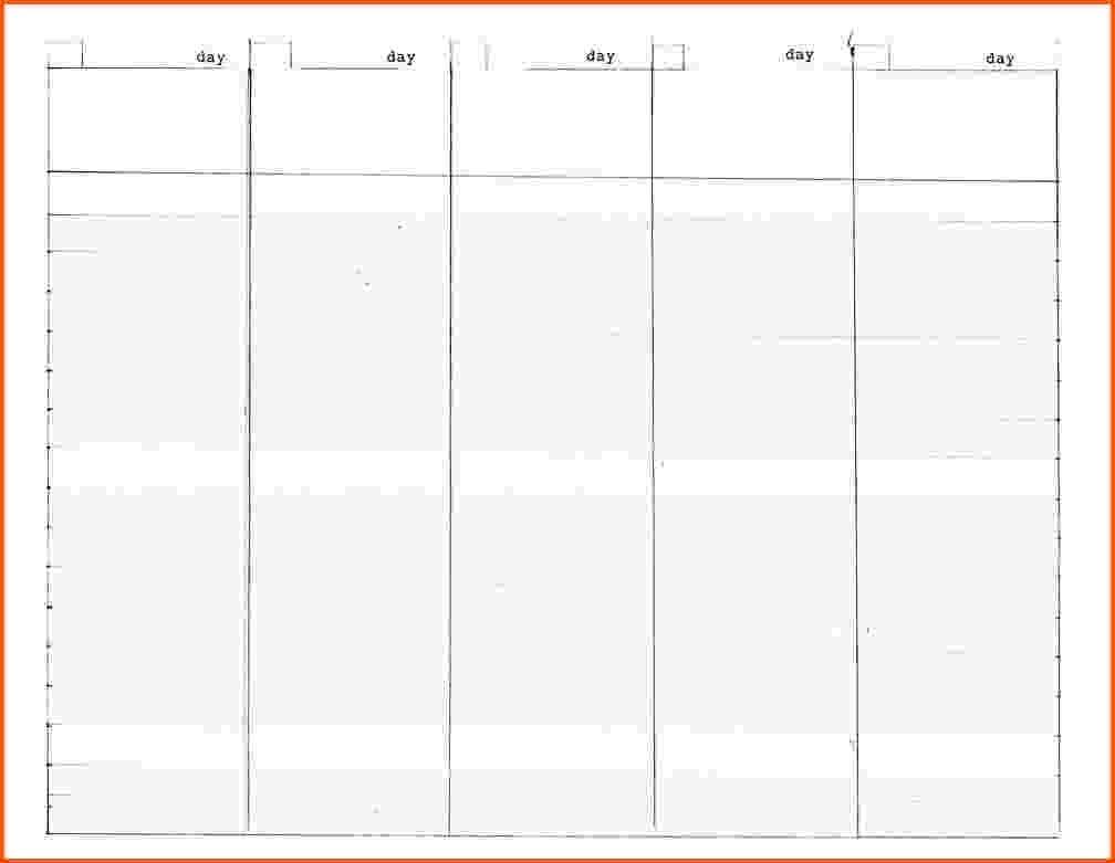 5 Day Calendar Template. Monthly Calendars Calendar Printable And inside 5 Day Week Monthly Calendar Templates