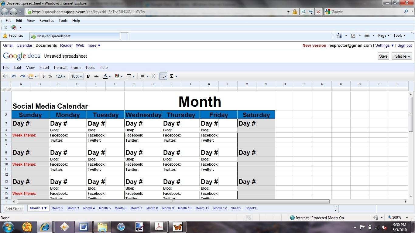 5 Easy Steps To A Winning Social Media Plan : Social Media Examiner in Social Media Content Weekly Schedule