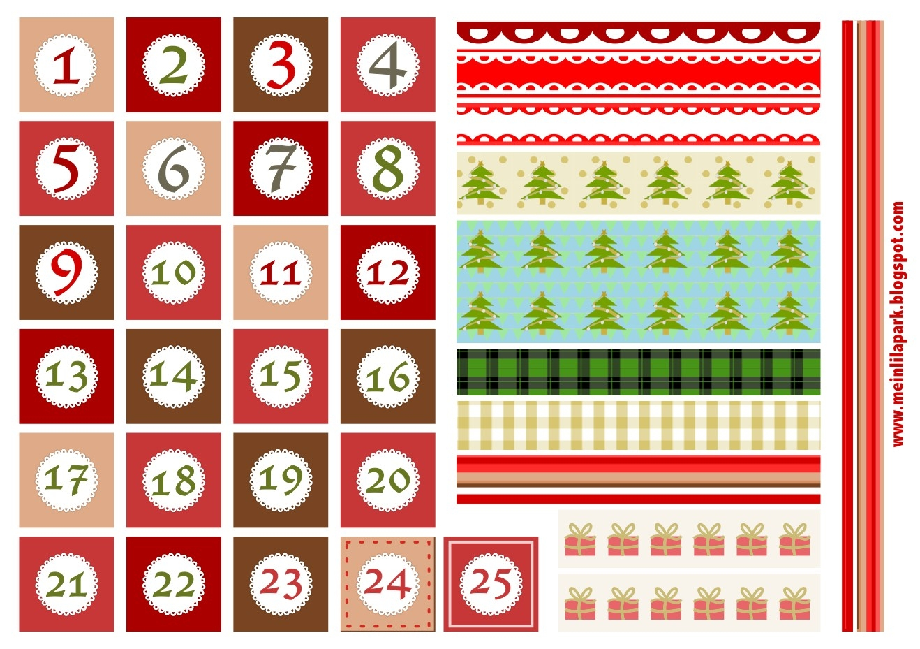 548 Free Printable Advent Calendar Template Free Printable Advent with Advent Calendar Printable Numbers Calendar Template