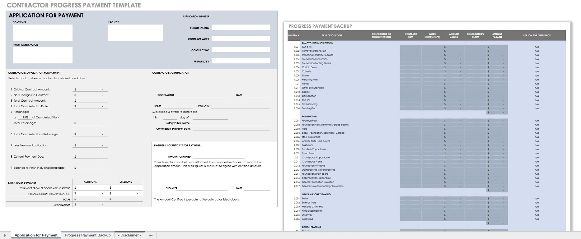 55 Free Invoice Templates   Smartsheet with regard to Layout Sheet For Bill Paying