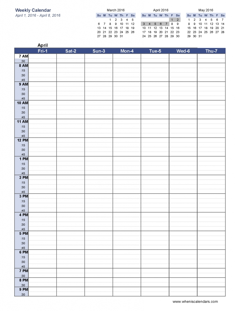 6 Week Blank Schedule Template Weekly Calendar Template Pdf Social in 6 Week Calendar Template Printable