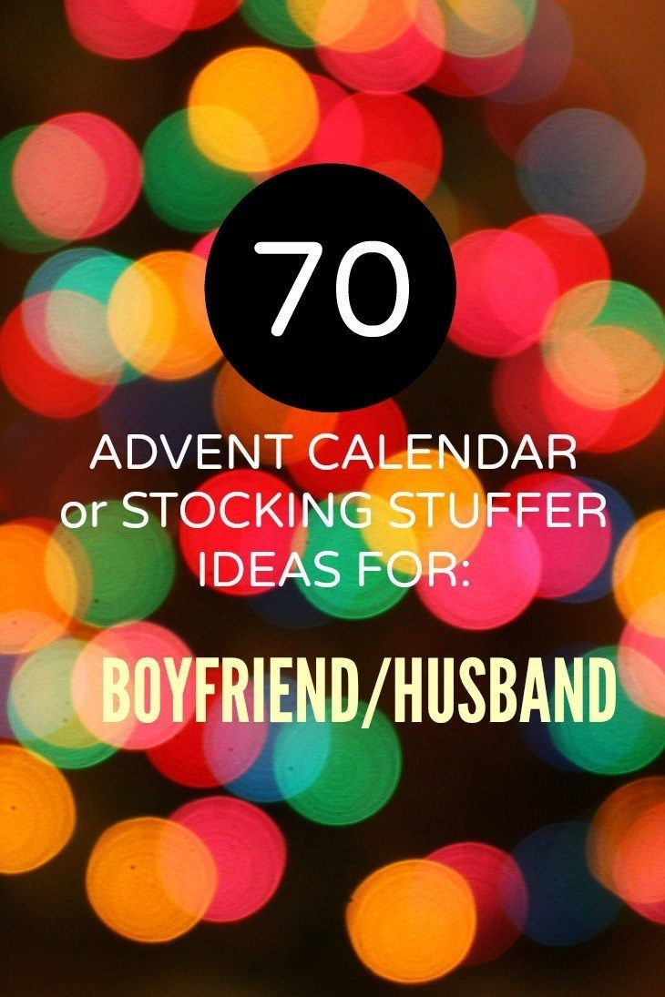 70 Advent Calendar Ideas For The Boyfriend Or Husband [Great for 12 Month Photo Calendar Ideas Naughty