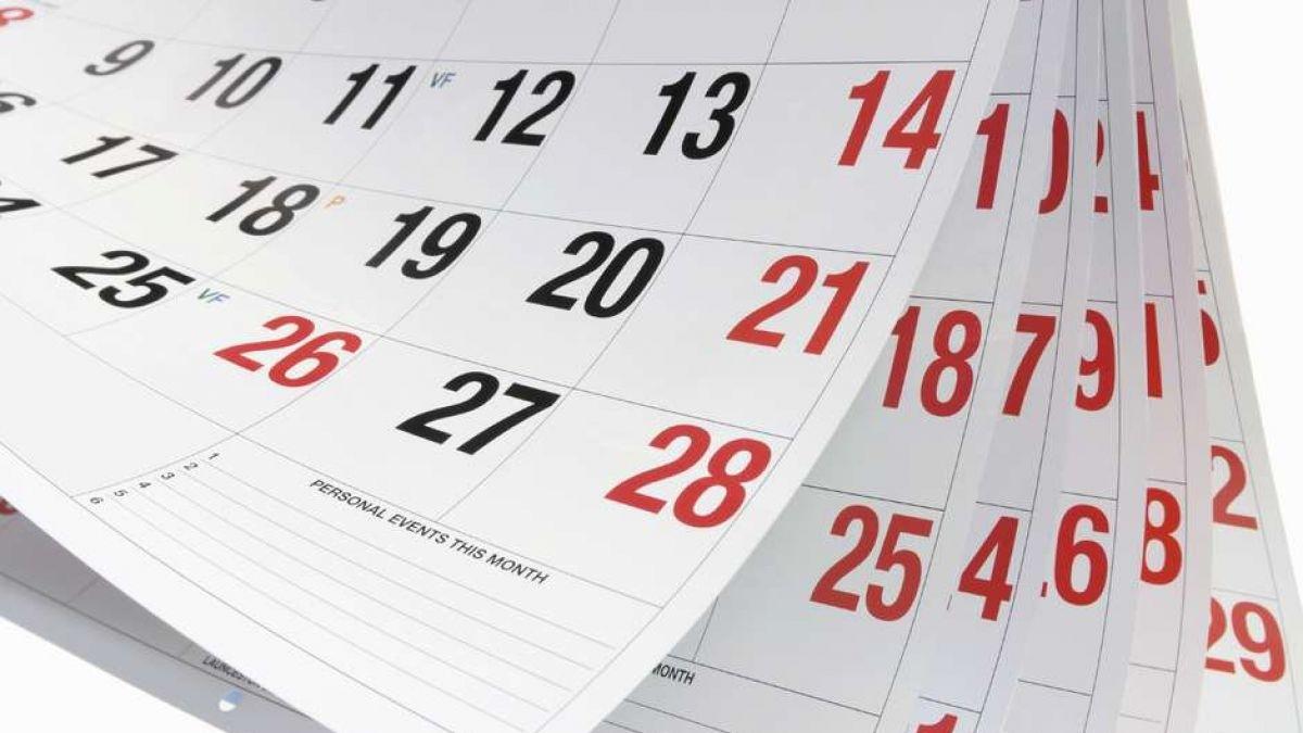 8 Fines De Semana Largo Y 12 Feriados Tendrá El Calendario 2017 in Calendarios 17 Feriados En Chile