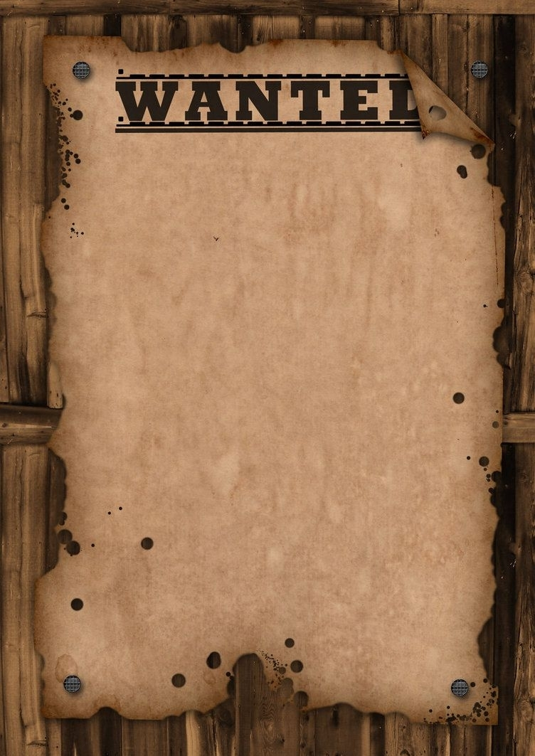 A Template Wanted Poster. Free For Use | Bulletin Boards | Pinterest throughout Free Printable Wanted Poster Template