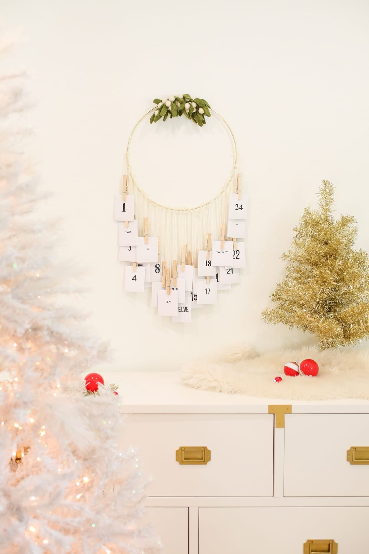 Acts Of Kindness Advent Calendar With Free Printables | Lovely Indeed with Free Printable Advent Calendars Wallpaper