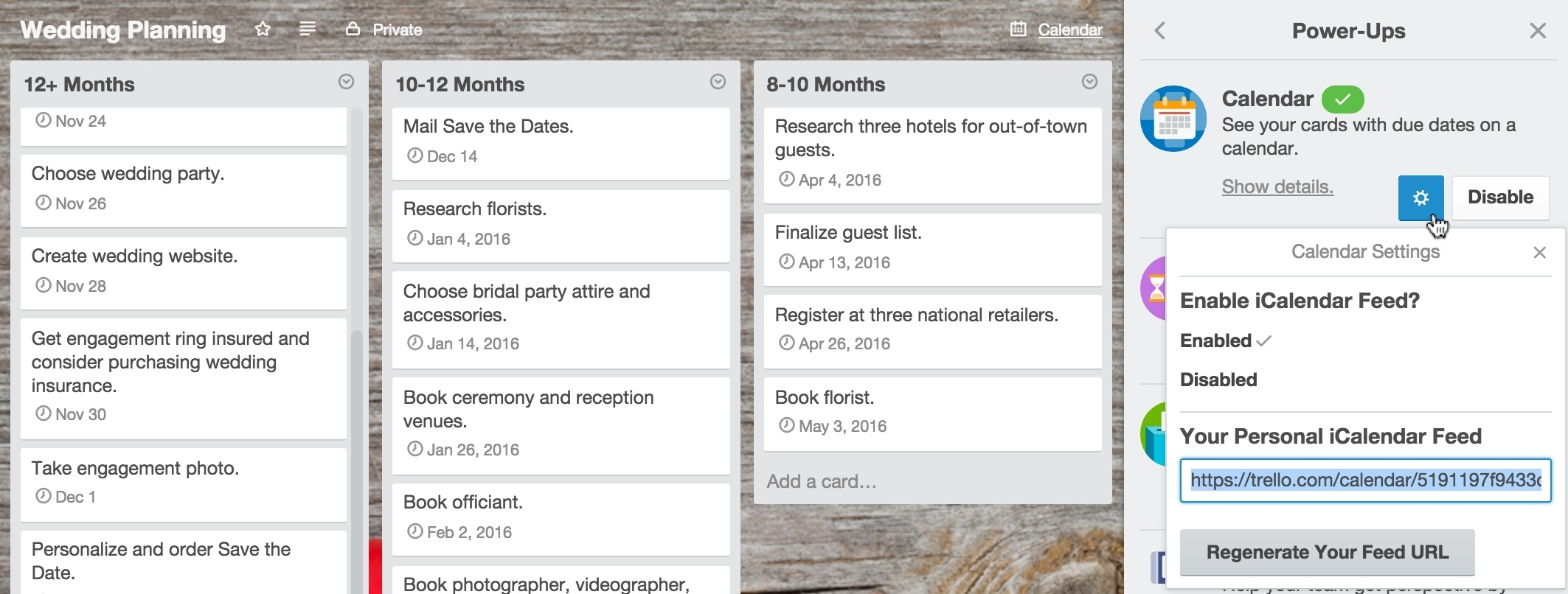Adding A Calendar To Your Trello Boards in Calenders And To Keep Up Withstuff