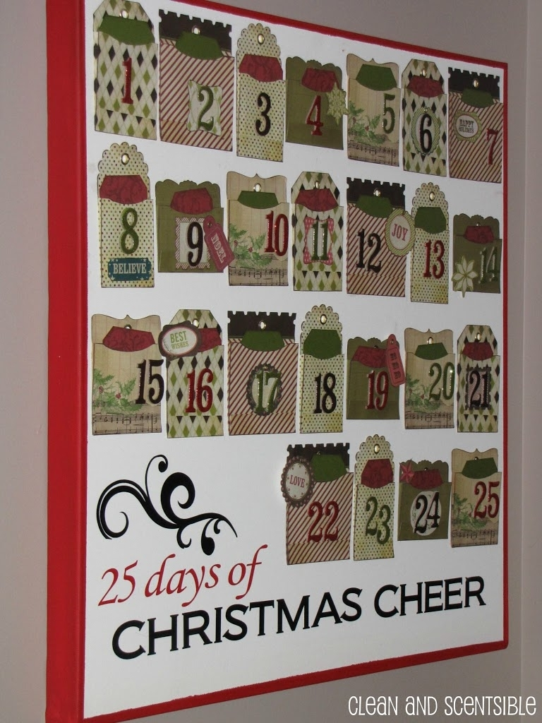 Advent Calendar Activities - Clean And Scentsible with regard to Advent Calendar Arts And Crafts For Preschool