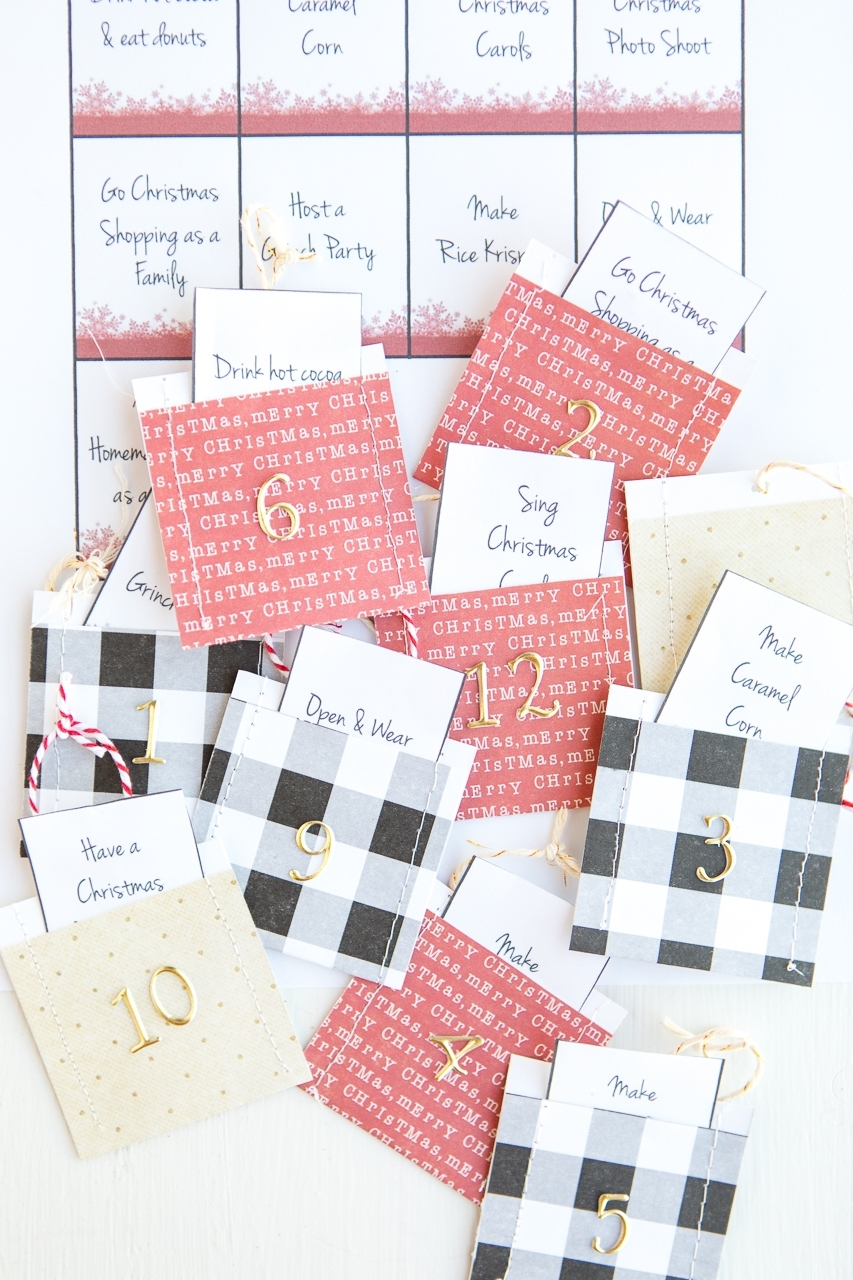 Advent Calendar Printables - Made To Be A Momma for Printable Advent Calendars For All Seasons