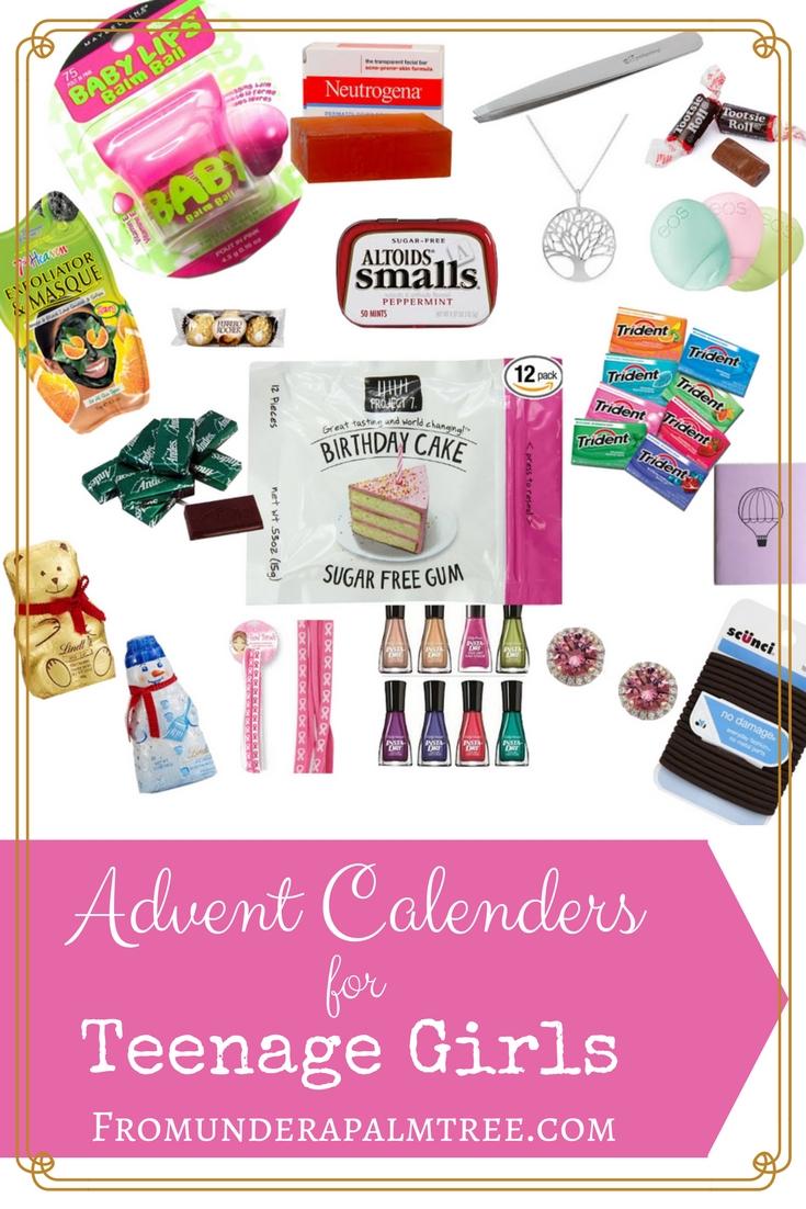 Advent Calendars For Teenage Girls   Celebrate Holidays   Teenage for Girls Advent Calendar With Gifts