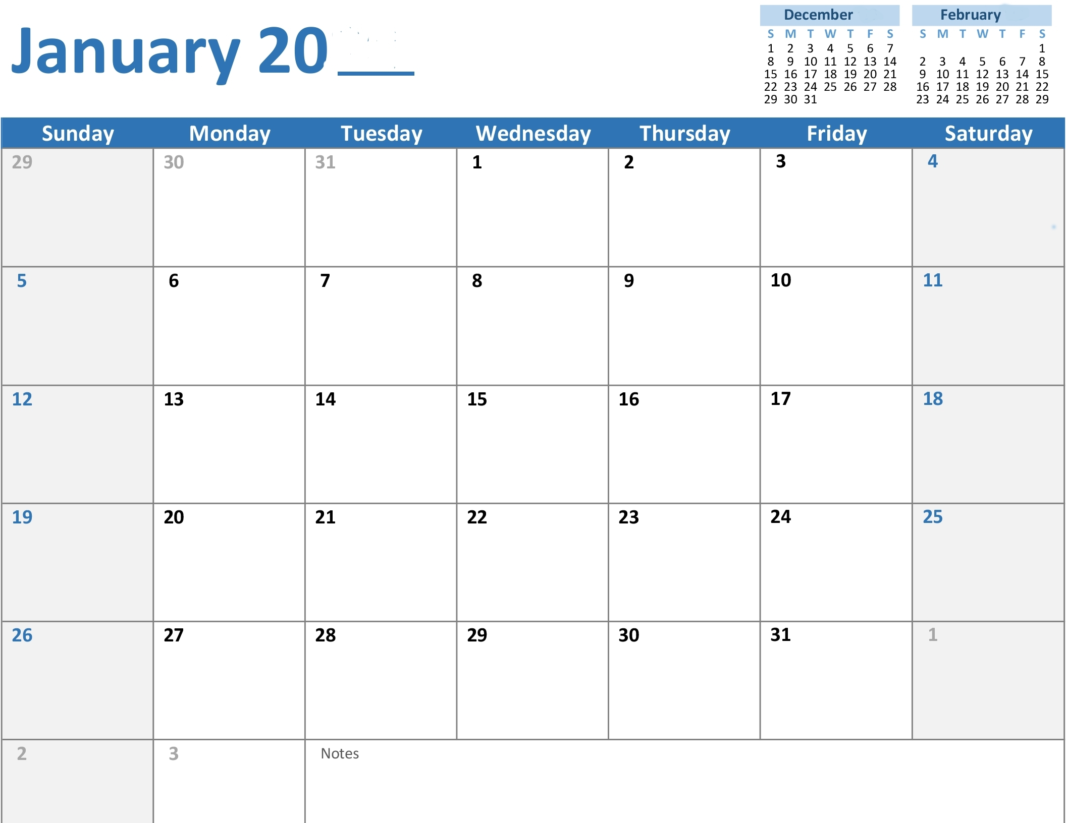 Any Year Monthly Calendar inside Calendar Of February Month Of 100 Years