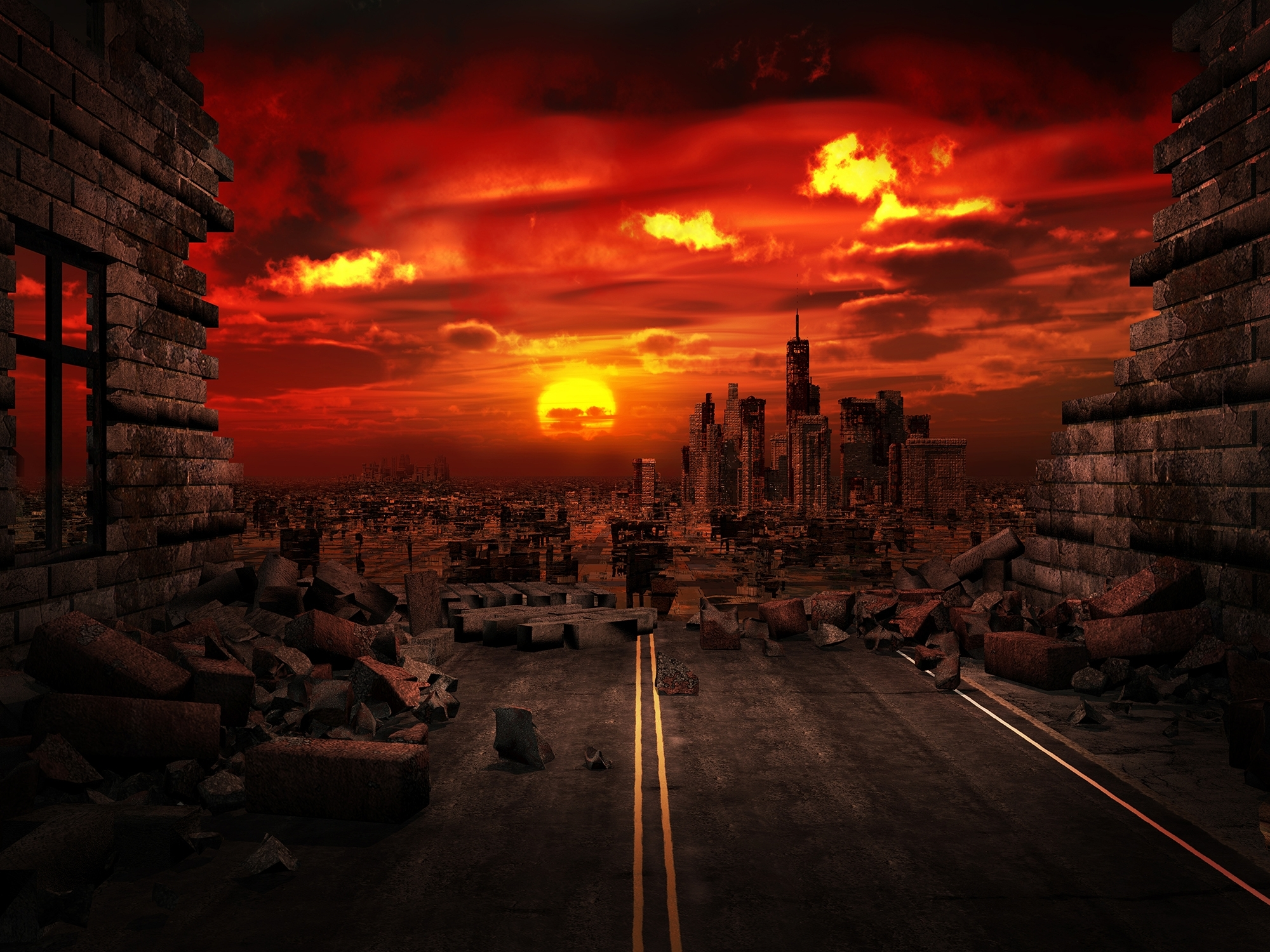 Apocalyptic Analysis — Top 4 End-Of-The-World Theories – Northrop for Apocalypse End Of The World