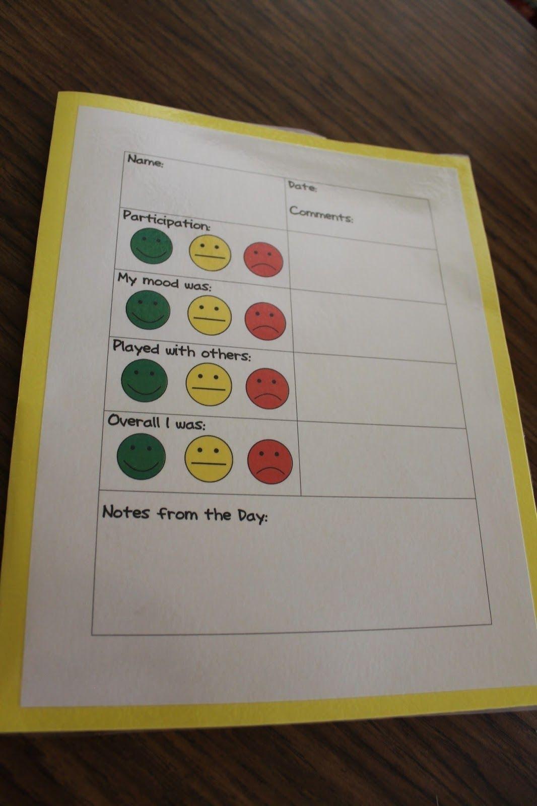 Apples 4 Bookworms: Play School | Behavior Management | Behavior with Conducut Chart For Play School