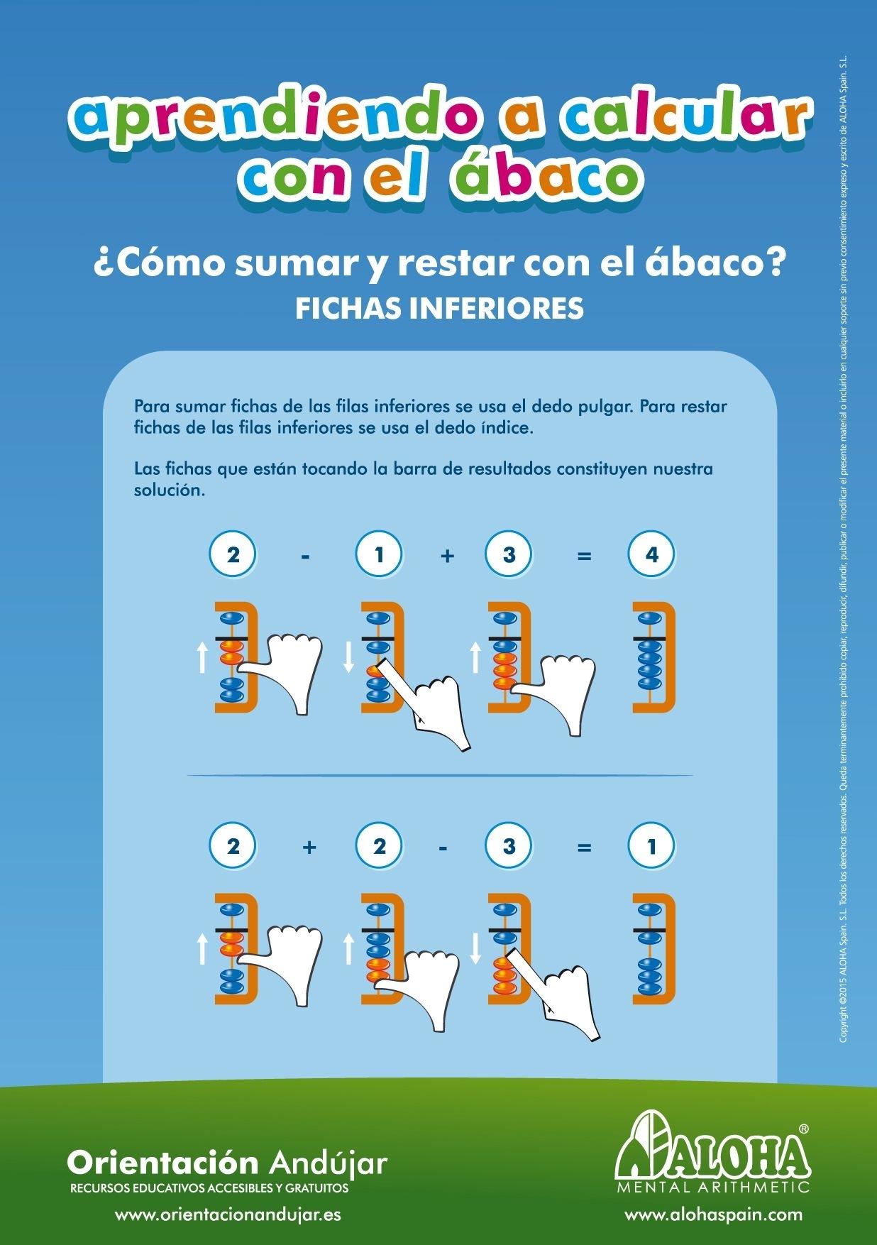 Aprendiendo A Calcular Con El Ábaco Como Sumar Y Restar Con El Ábaco for Operaciones Con El Abaco Suma