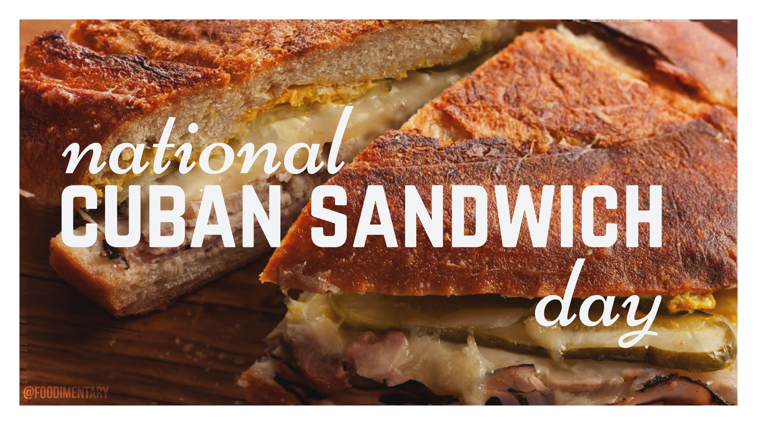 August 23Rd Is National Cuban Sandwich Day! | Foodimentary inside Images National Day August 23