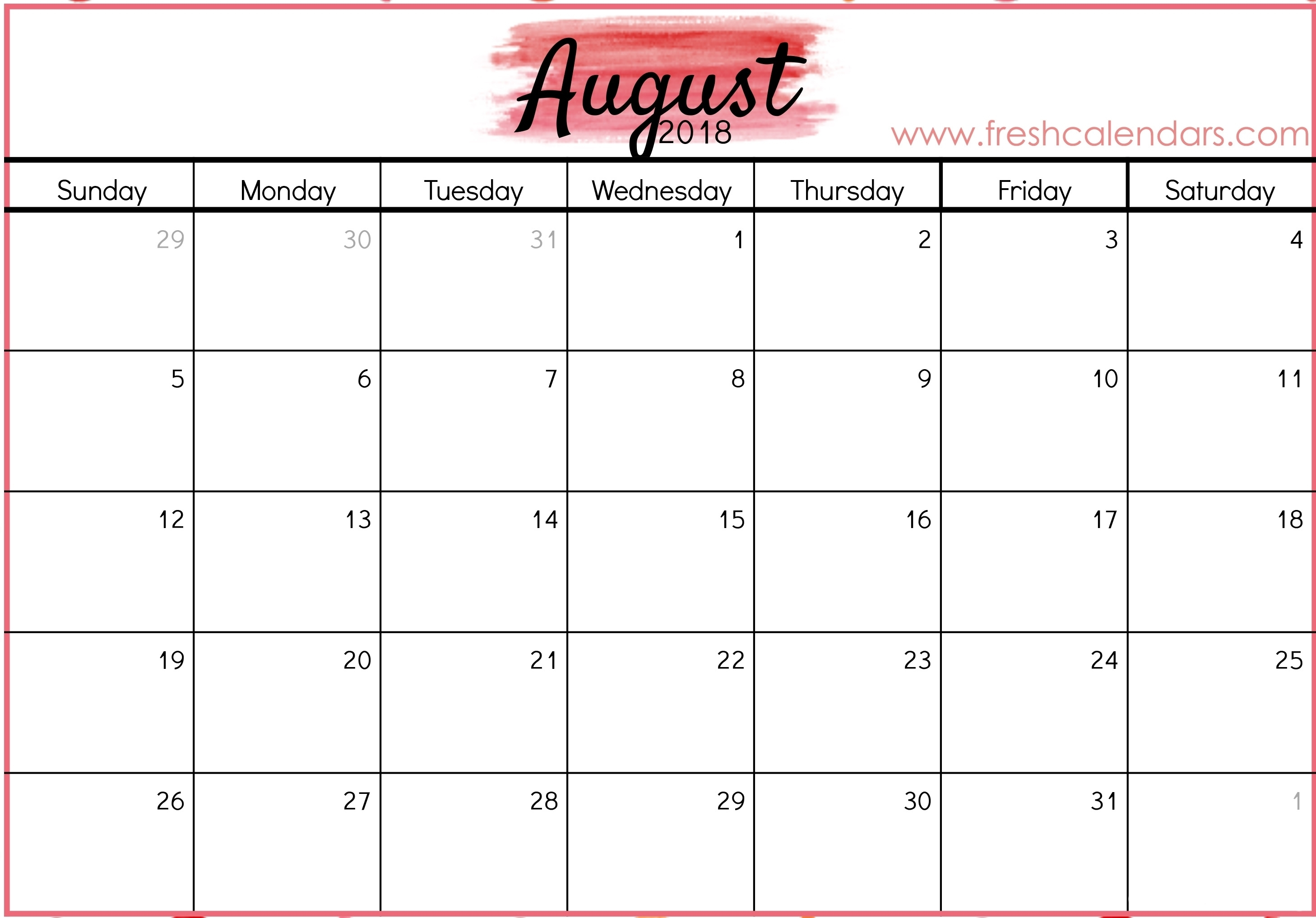 August 29 Hourly Schedule Template | Template Calendar Printable with August 29 Hourly Schedule Template