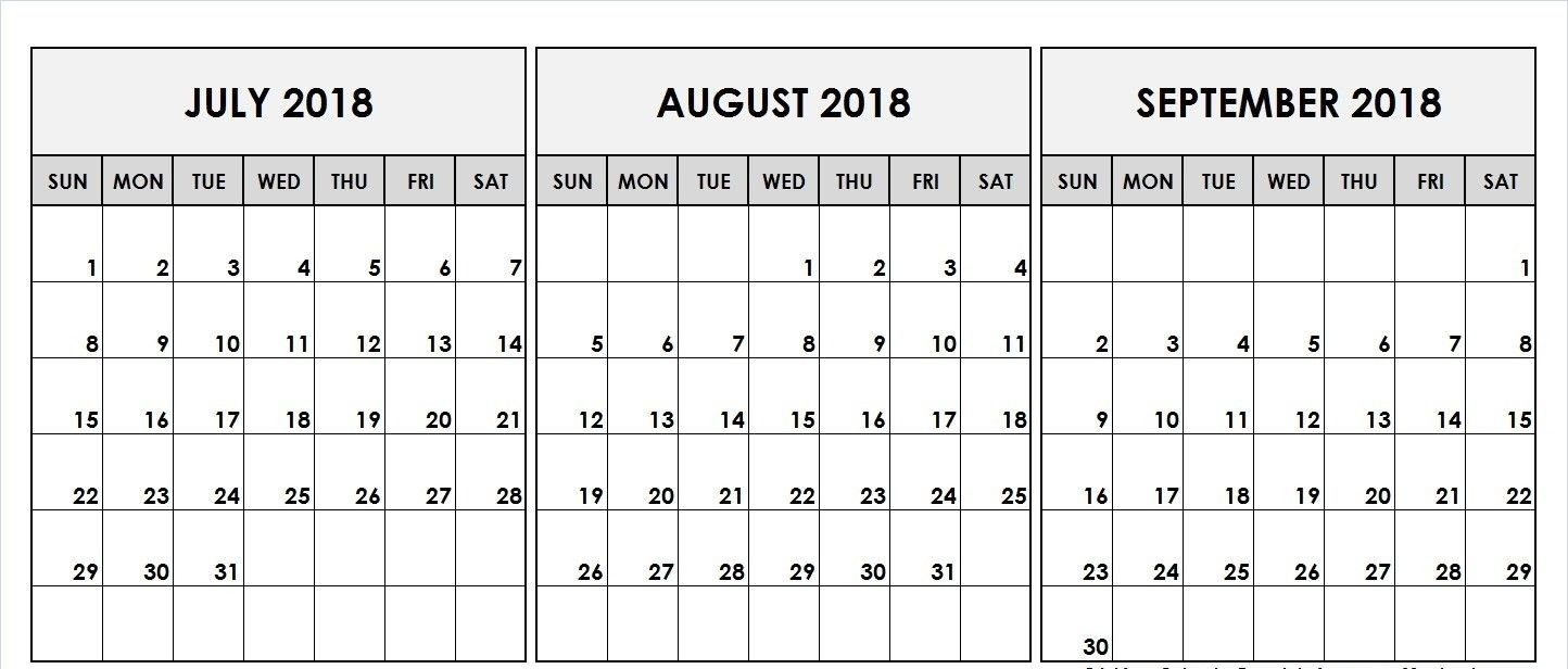 August And September Calendar Template | Template Calendar Printable for August And Septmber Calendar Together