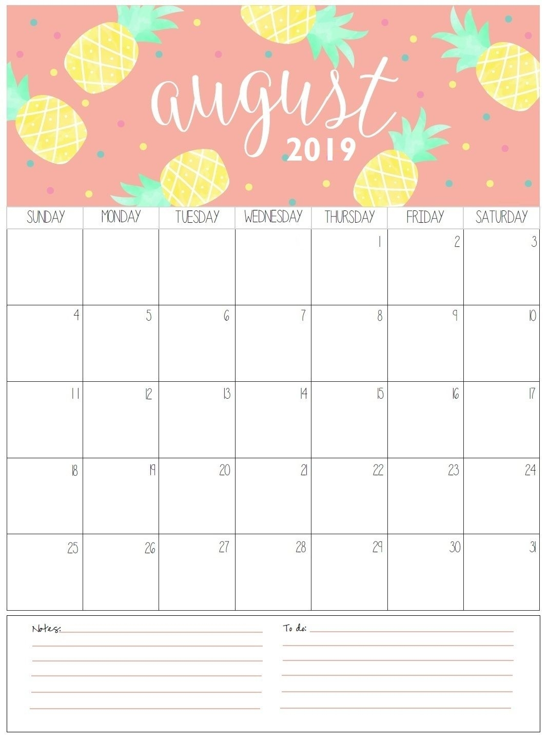August Monthly Calendar 2019 | Organization | August Calendar, 2018 with regard to Pregnancy Calendar April To January Organizer