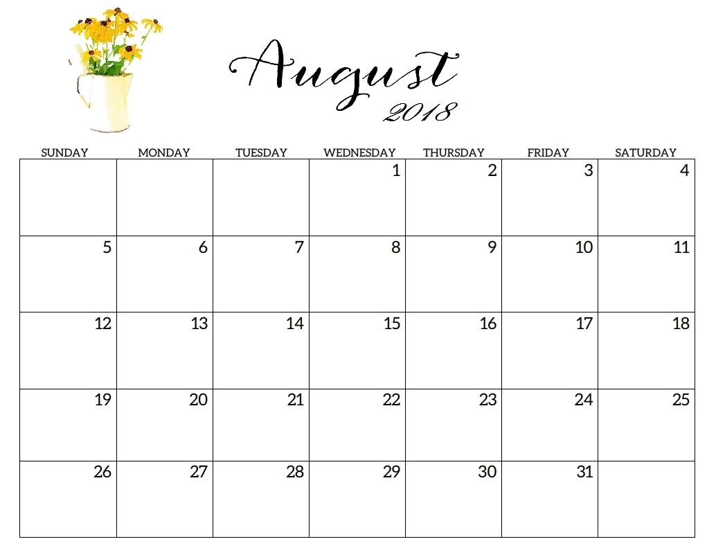 August & September & October 2018 Printable Calendar | Free in August And Septembercalendar Free Printables