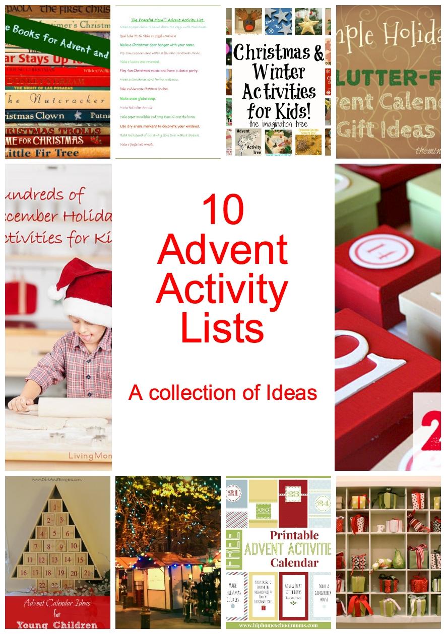 Awesome Diy Advent Calendar Ideas {+25 Days Of Ideas} pertaining to Free Printable Blank Advent Activities List Minimal