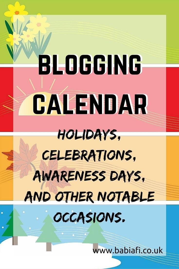 Babi A Fi: November Editorial Calendar Ideas for Ideas For Calendar In November
