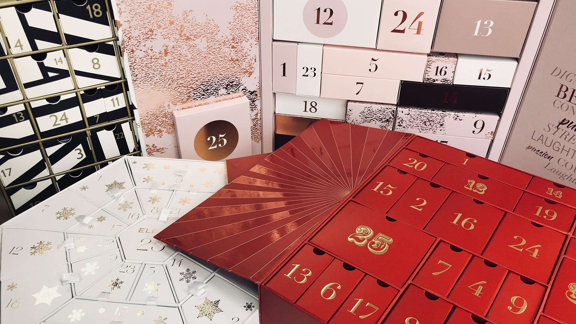 Beauty Advent Calendars On Sale: Bag A Bargain Before 2019 within 12 Month Photo Calendar Ideas Naughty