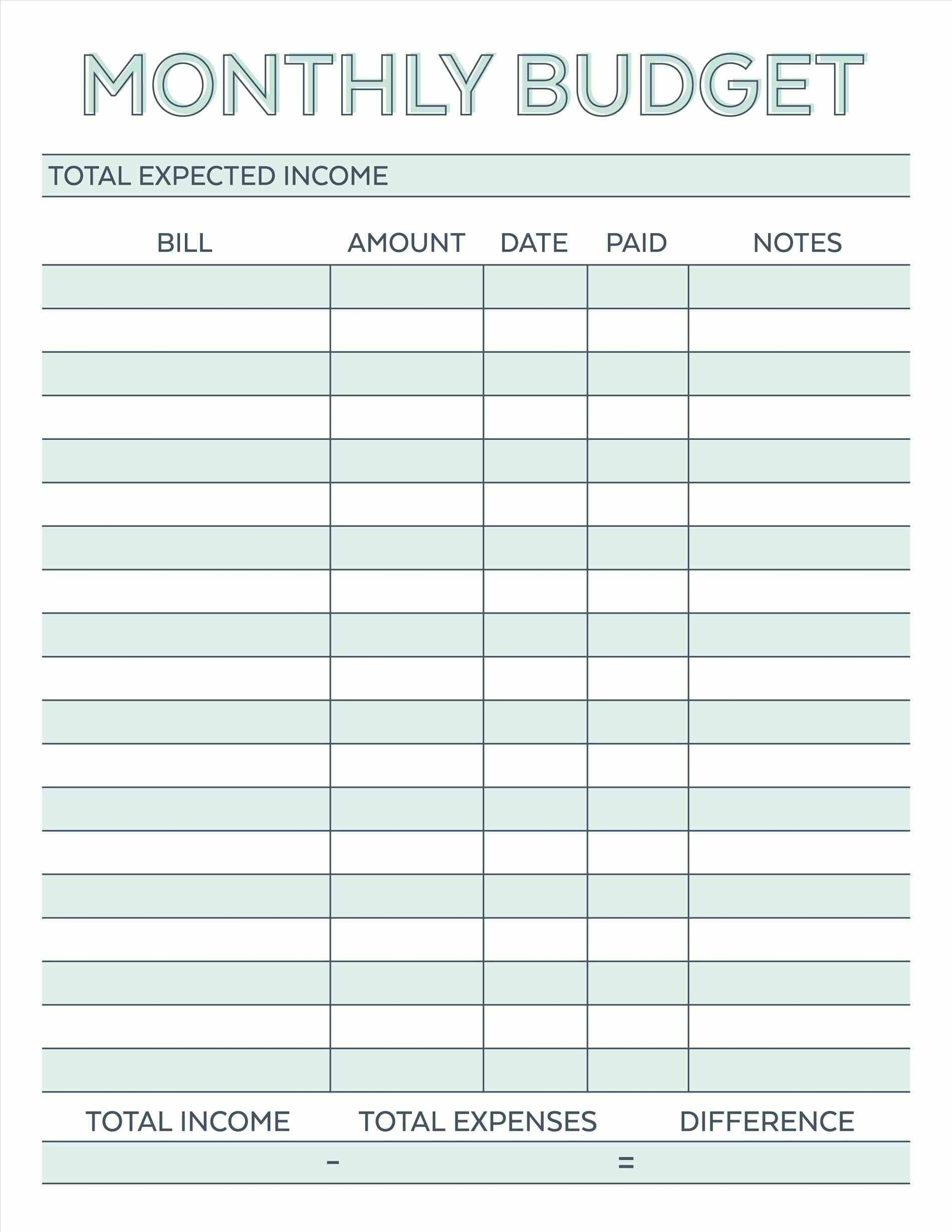 Bills Duepaycheck Free | Template Calendar Printable for Bills Due By Paycheck Free