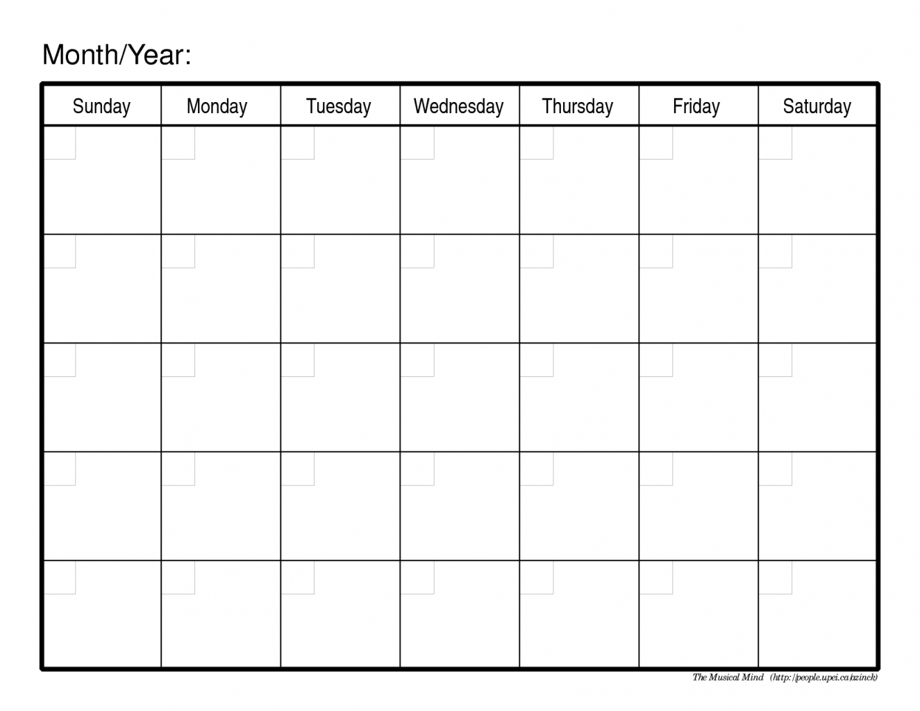 Blank 30 Day Calendar Printable Printable Calendar Templates 2018 pertaining to Blank 30 Day Calendar Template
