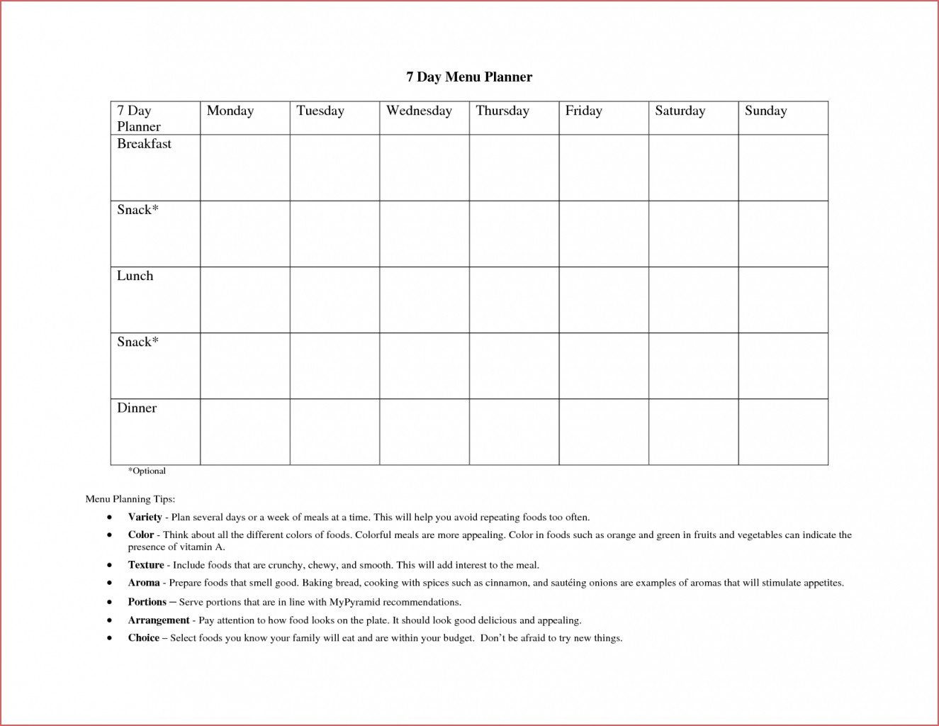 Blank 7 Day Calendar Online Calendar Templates Day Calendar intended for Printable 7-Day Calendar Template Monday Starts With That