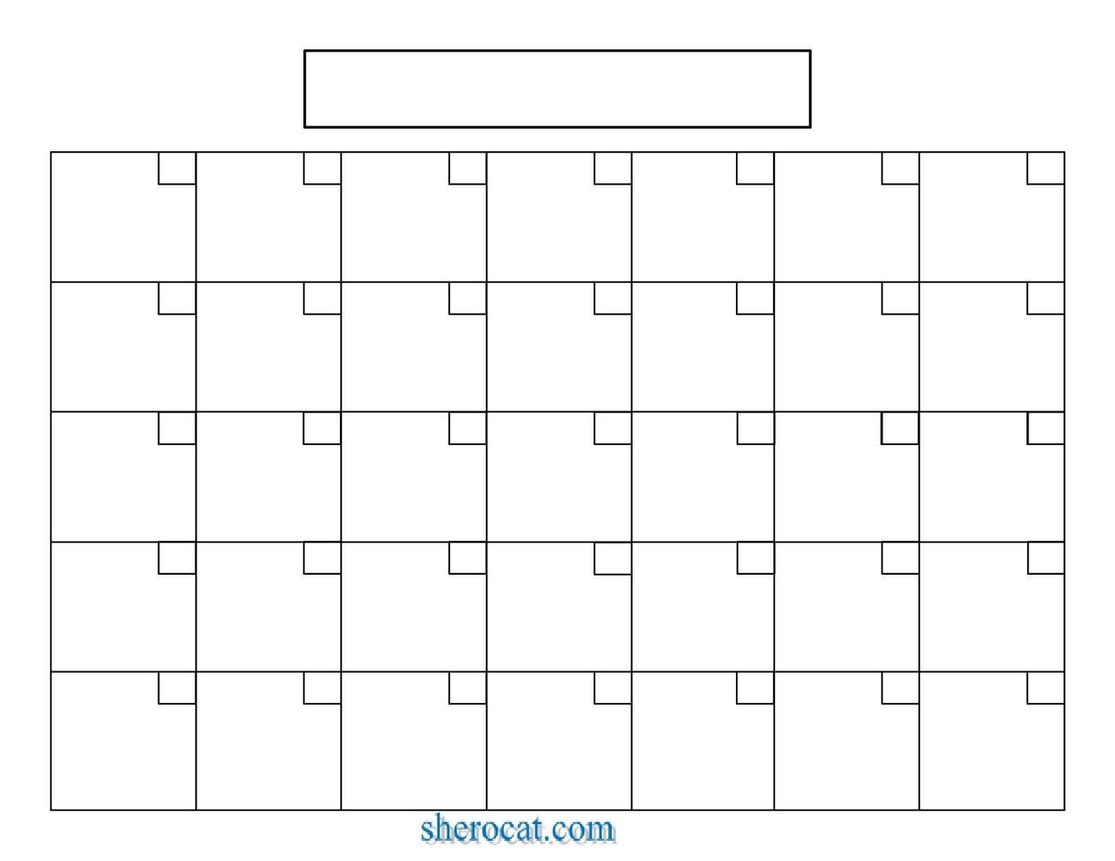 Blank Calendar   Calendar Weekly Printable with Free Printable Blank Calendar Template