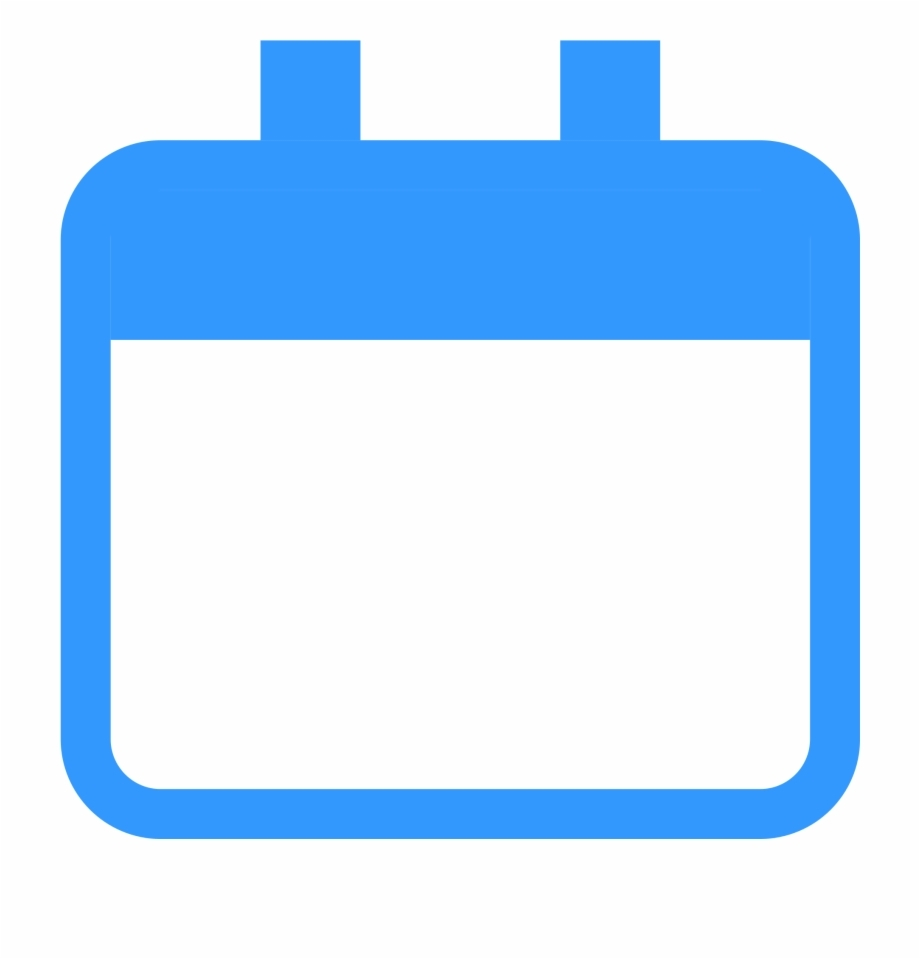 Blank Calendar Icon Png - Blue Calendar Icon Png Free Png Images pertaining to Free Images Generic Calendar Icon