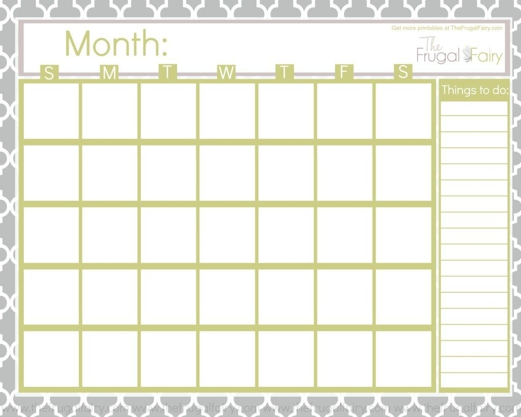 Blank Calendar Tff | Fonts | Blank Calendar, Printable Blank with regard to Fill-In Blank 12 Month Calendar