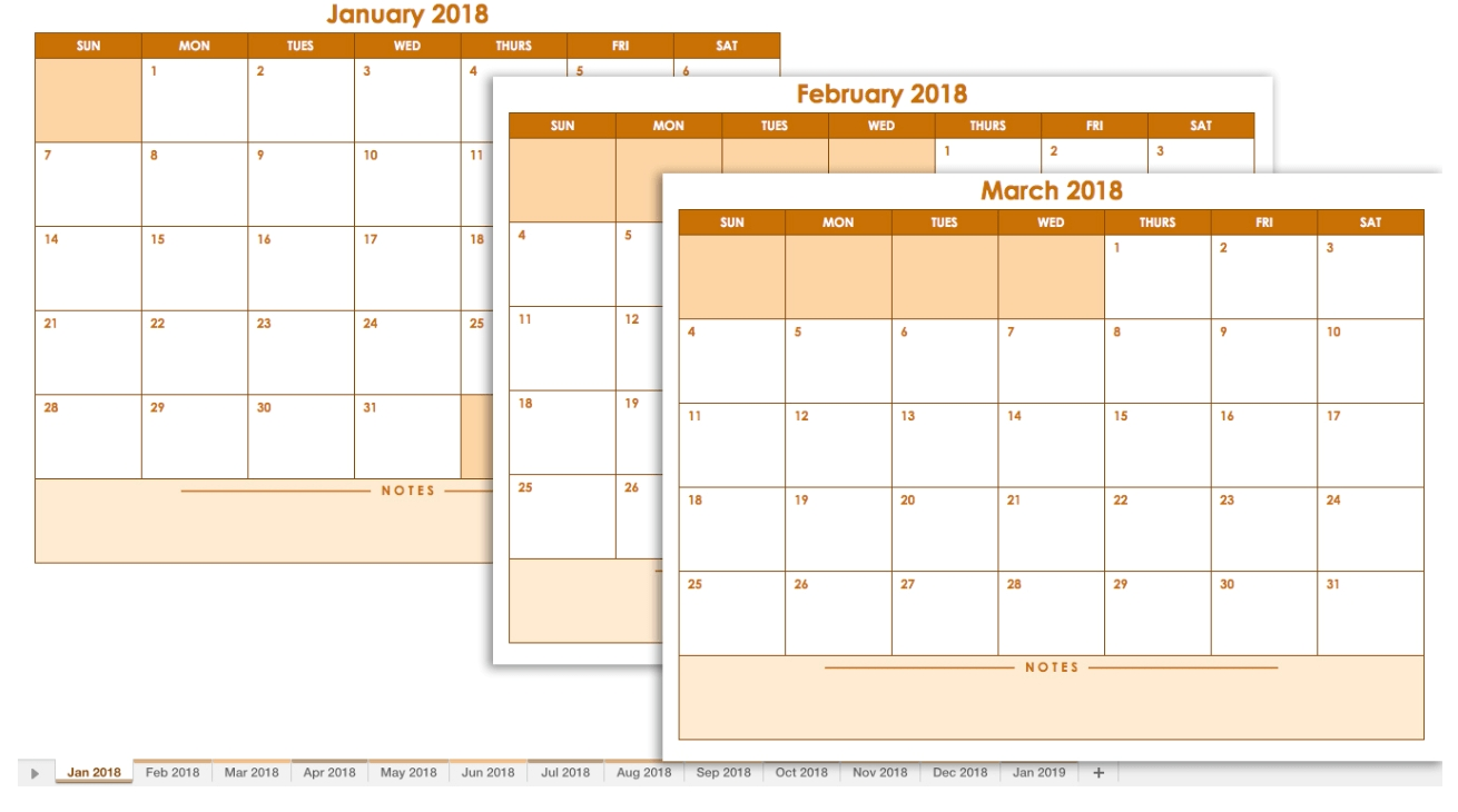 Blank Calendar: Wonderfully Printable 2019 Templates inside Printable Large Blank Three Month Calendar Template
