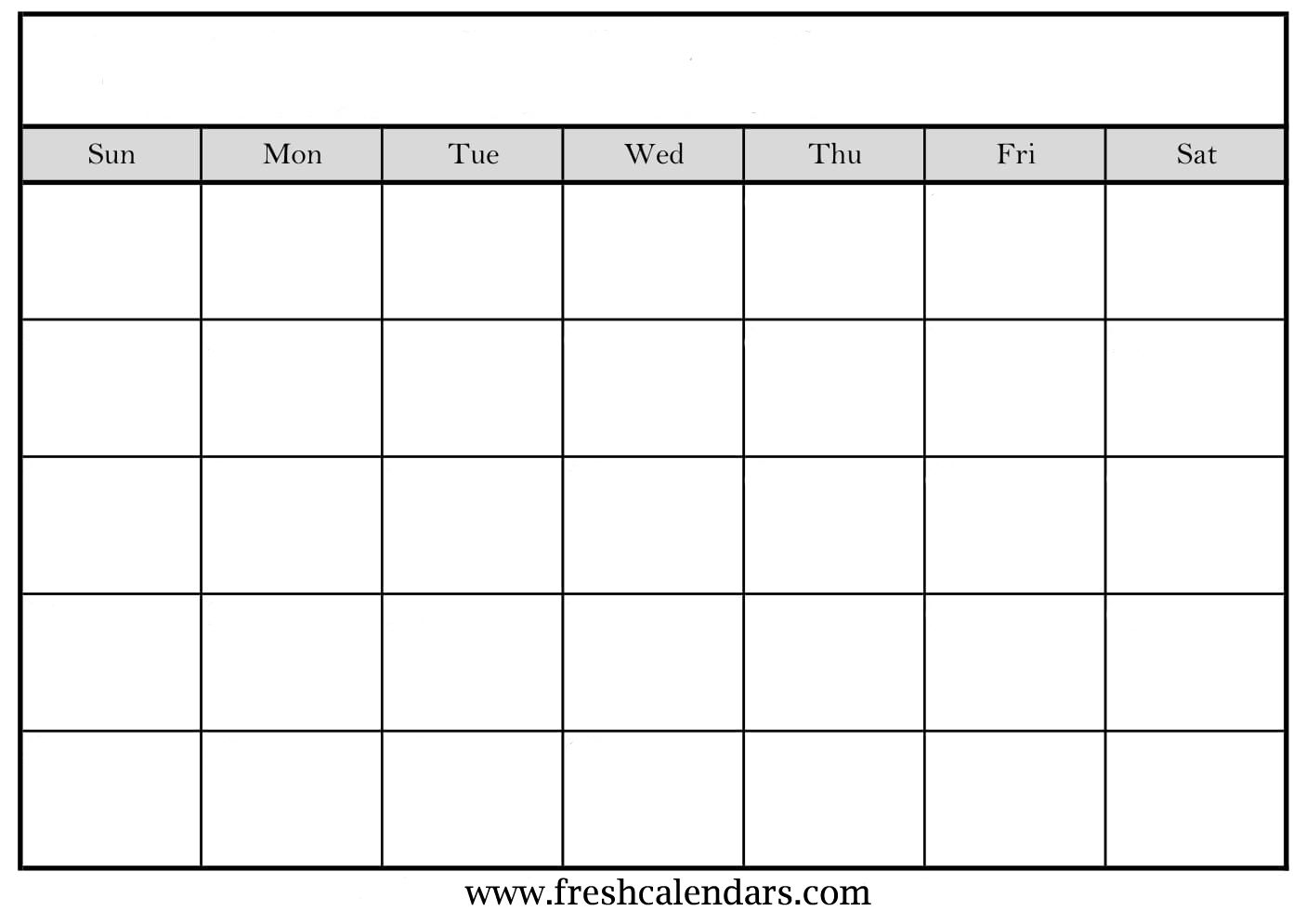 Blank Calendar: Wonderfully Printable 2019 Templates regarding Blank Calendar Template With Notes
