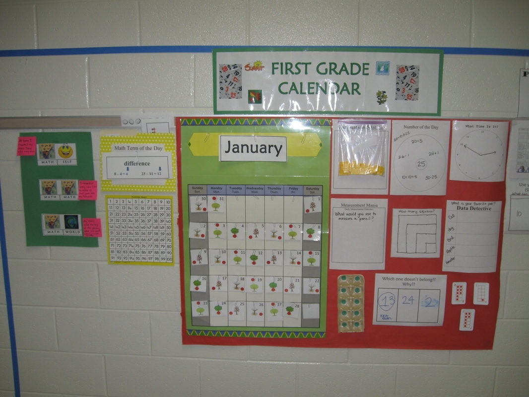 Calendar/number Routines Supplements K-5 - Mrs. Kathy Spruiell At School intended for Fourth Grade Everyday Math Calendar Wall